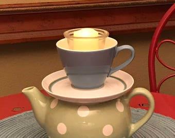 Teapot candleholder