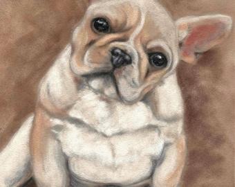 French Bulldog Wall Art - French Bulldog Print - French Bulldog Picture - Dog Print - Dog Picture - Puppy Picture - Dog Wall Art - Dog Gift