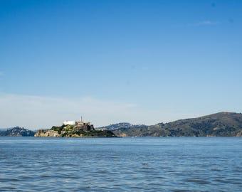 Landscapes - Alcatraz San Francisco (Canvas)