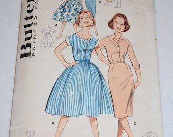 Vintage Butterick Dress Pattern-- Butterick 9282