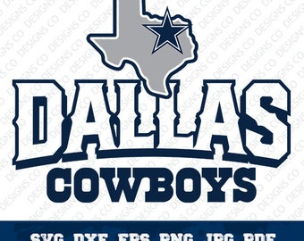 Dallas Cowboys,NFL,Football Team,Logo Silhouette,Dallas Cowboys logo,Vector File,Cricut Design,svg-dxf-png,digital file,OUT-10