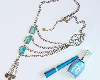 Necklace Jewelry Chain Metal  22 inches long