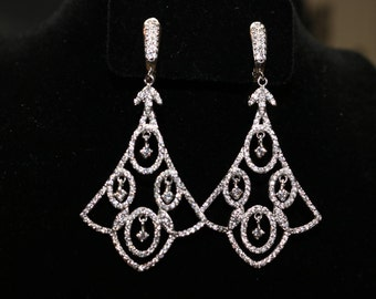 Earrings HandMade. Riches view and beautiful design.