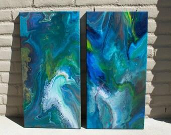 Acrylic Art Paint Pour