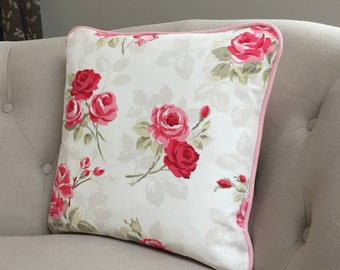 Handmade Decorative Roses Cushion