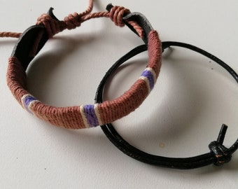 2 for 1 price, Unisex Bracelets, Men's and Women's jewelry, Gift For Him or Her, Adjustable Bracelet, Bracelet For Men or Women, N-006