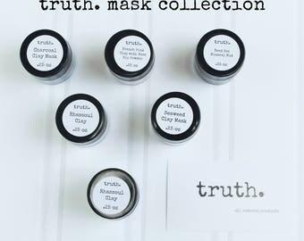 truth. face masks
