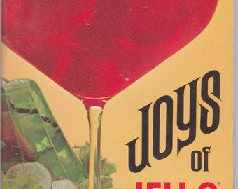 1960s Joys of Jello cookbook