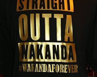 Straight outta wakanda Gold