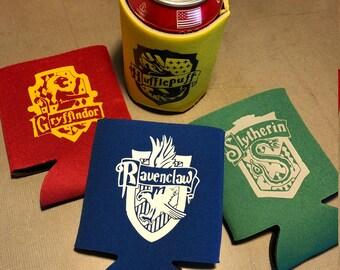 Harry Potter Inspired Hogwarts House Can Cooler