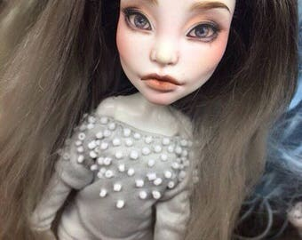 Monster High repaint doll by Firexia free shipping Spectra ooak
