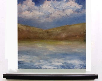 Silent Bay, Ocean, Landscape Painting, Peaceful, Travel, Original Painting, Winjimir, Home Decor, Office art, Wall Art, Design, Gift, Art