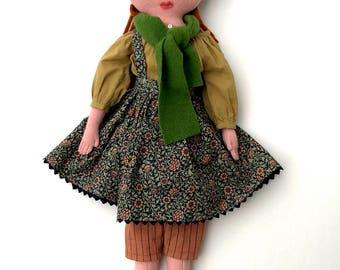 Forest Girl doll wool softie