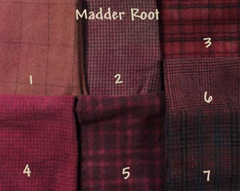 Madder Root ~ Naturally – Hand – Plant Dyed Wool