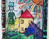 Chagall Horse Photobomb...