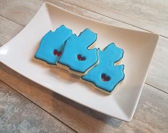 Pure Michigan Sugar Cookies- 1 Dozen
