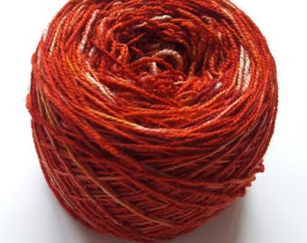 Destash My Stash Hand Dyed High Twist Sock Yarn 80 Superwash Merino 20 Nylon