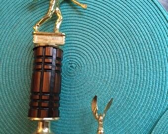 Vintage Men's Bowling Trophy