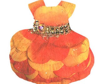 Fairy Paper Doll Dress . Add-on to the Fairy Starter Set . Peony