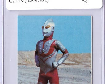 RARE 1969 Ultraman Card in JAPANESE Ultraman 18021010