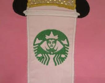 Mickey Mouse Starbucks Applique Shirt