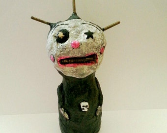 Forlorn Odds and Ends Folk Art Doll 1