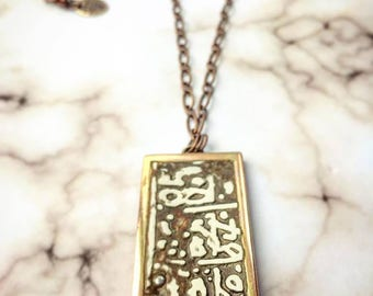 Organic Design Handmade Necklace