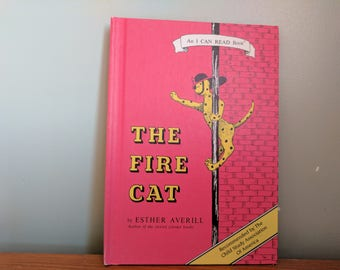 The Fire Cat by Esther Averill Weekly Reader, Hardback Children's Book, 6 1/4 by 8 3/4 Inches