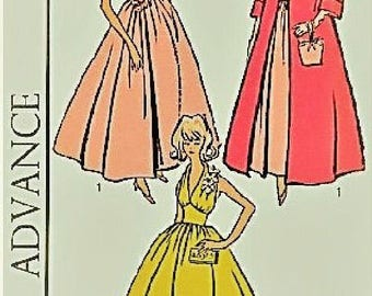 """PDF pattern for 3 Barbie 11.5"""" size Evening Gowns #3574 Print at home"""
