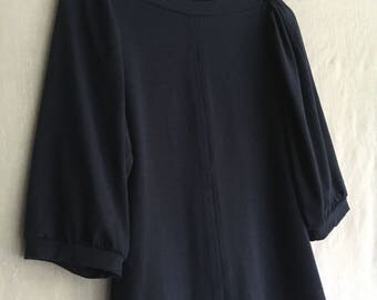 Sale, Size Large, Adi Top, Women's Top, Marine Jersey Top, Bamboo Jersey- ready to ship