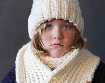 Crochet Hat Pattern - BRIGHTON ALPINE SKI Hat Set - Crochet Ski Hat Pattern - Crochet Beanie Pattern - Crochet Hat Pattern - Crochet Pattern