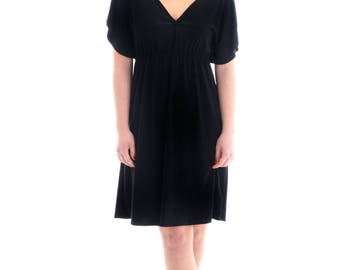 Elegant chic dress, Black mini dress, Summer dress, Short mini dress- Plus sizes are available