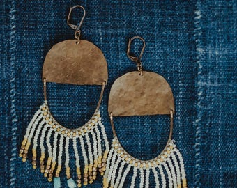 Keysha Fringe Earrings