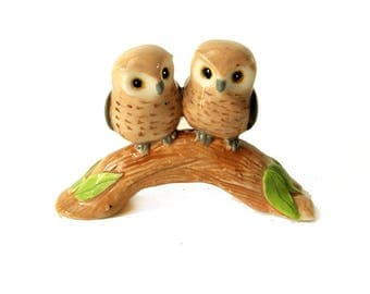 wedding cake topper / owl cake topper / Woodland wedding cake topper / owl figurine / bridal shower cake topper / wedding shower gift nst