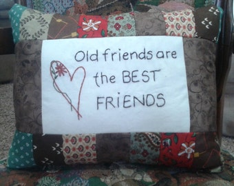 Old friends are the best friends