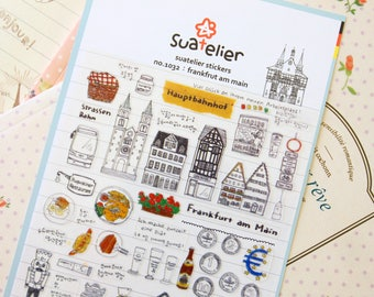 Frankfurt Am Main Suatelier scrapbooking stickers