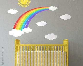 Wall Decor For Kids rainbow wall decor | etsy