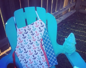 Child's Reversible Anchors Away