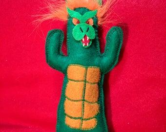 Gabara plush doll, Godzilla monster, kaiju
