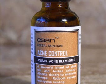 Acne Control - Cystic Acne Serum - Acne Spot Treatment - Powerful Blend of Antibacterial Botanicals