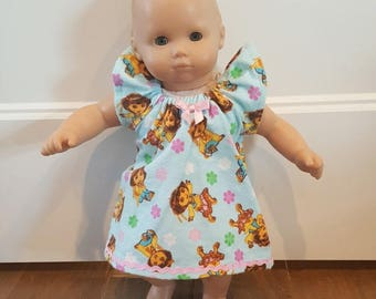 Bitty Baby Bitty Twin Doll Clothes - Dora Nightgown