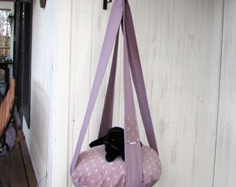 Cat Bed, Lovely Lavender Single Kitty Cloud, Hanging Cat Bed, Cat Tree,