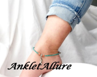 BEACH Ankle Bracelet FLIP FLOPS Anklets for Women Cruise Jewelry Guaranteed