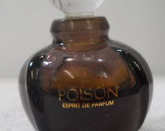 Christian Dior Poison Espirit De Parfum Perfume Mini Bottle Free Shipping