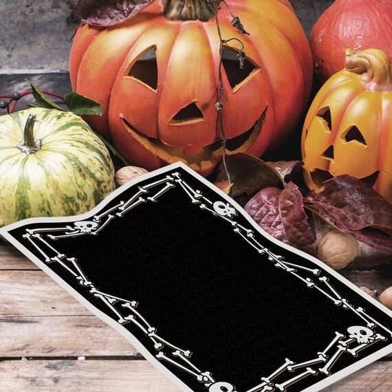 Dem Bones Halloween Book of Shadows  Page