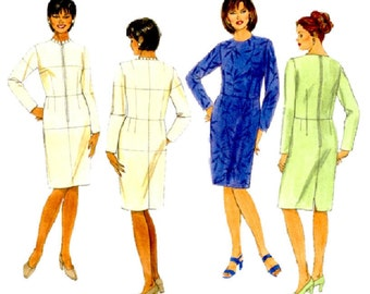 Butterick B5628 Size 24W Womens Fitting Shell and Dress Personal Fitting Sewing Pattern Supply Straight Skirt Fitted Bodice FF