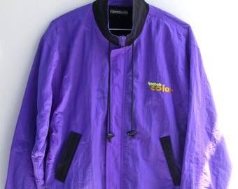 Purple Reebok Jacket (rummage sale)