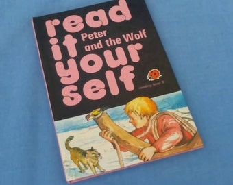 Peter and the Wolf - Vintage Ladybird Book Read It Yourself Series 777 Level 3 - 75p - Glossy Covers
