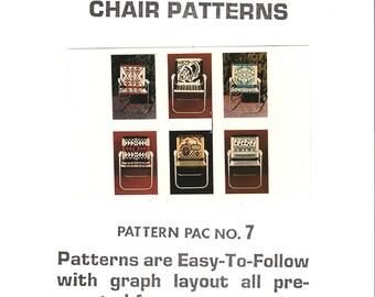 Six Unique Macrame Chair Patterns Pac 7