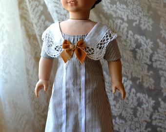 Reserved for Maggie - Titanic Doll Dress Downton Abbey for American Girl 18 inch doll